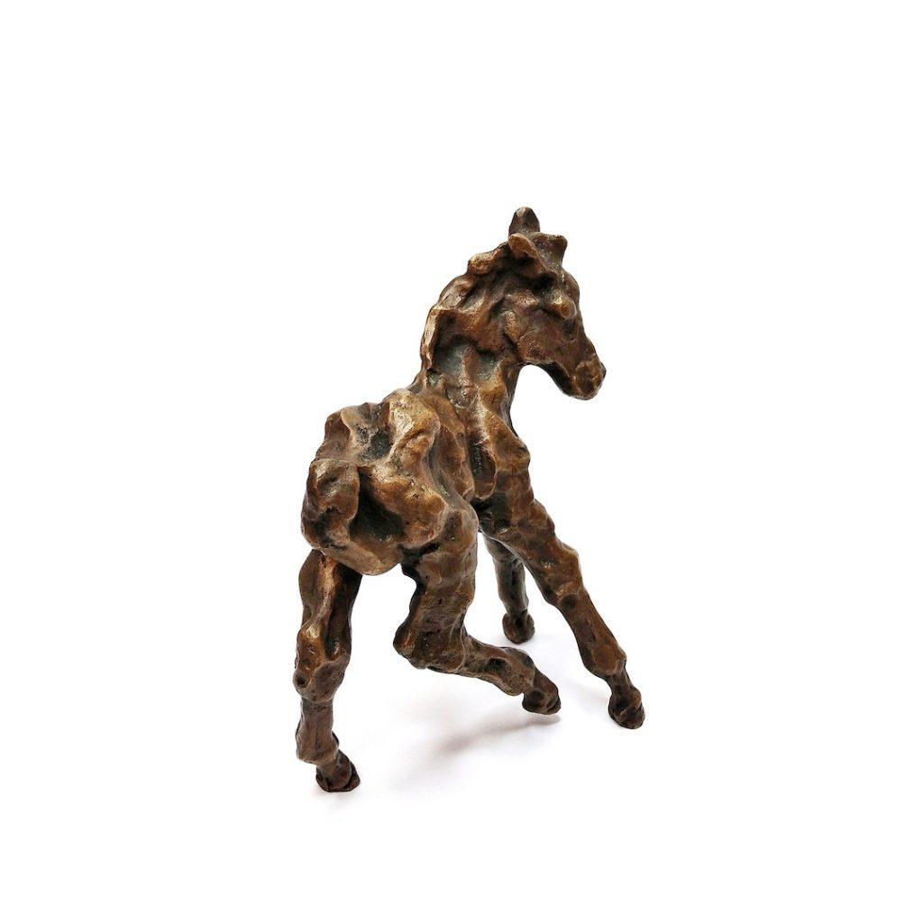 Bronze Skulptur Fohlen